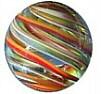 Handmade marble Many Ribbons